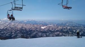 アルプス平からの眺め