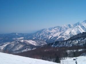岩岳、八方、五竜スキー場