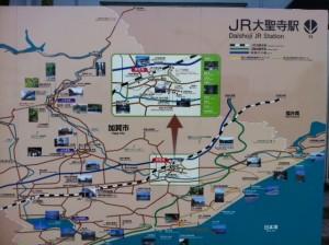 大聖寺駅前マップ